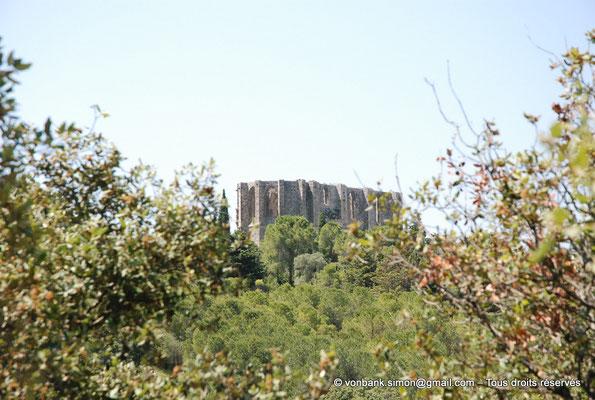 [NU001-2017-495] 34 - Gigean - Saint-Félix de Montceau : Ruines de l'abbatiale