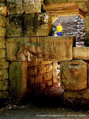 [NU902-2010-143a] Butrint (Buthrotum) : Porte du lion (détail)