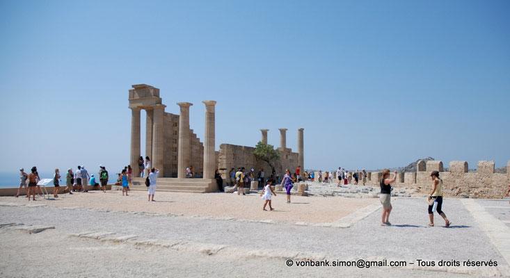 [NU901-2009-0135a] Lindos (Rhodes) : Temple d'Athéna Lindia