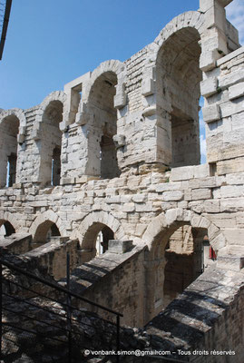 [NU001k-2018-0027] Arles (Arelate) - Amphithéâtre : Arcades supérieures