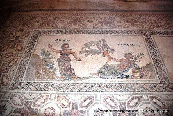 [NU900-2012-053] Paphos (Nea Paphos) : Villa de Dionysos - Pyrame et Thisbé [16]