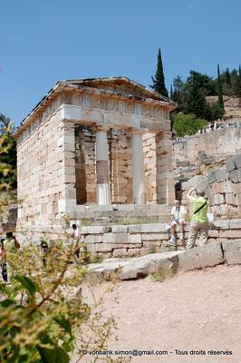 [NU901-2008-0149] GR - Delphes - Sanctuaire d'Apollon : Trésor des Athéniens