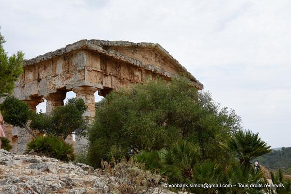 [NU906-2019-1401] Ségeste : Temple inachevé - Faces Ouest et Nord