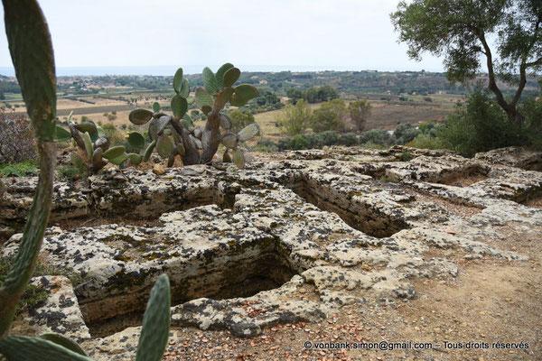 [NU906-2019-1568] Agrigente - Nécropole paléochrétienne (IV° - VII° siècle)