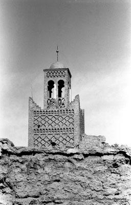 [NB050-1978-19] Temacine-Tamelhat - Minaret de la mosquée de Si El Hadj Temacine