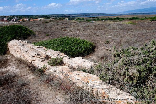 [NU904-2015-242] Tharros (Sardaigne) : Vestiges de l'aqueduc