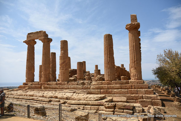 [NU906-2019-1543] Agrigente - Temple d'Héra (Junon) : Face Est