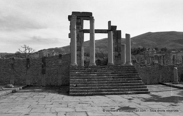 [NB031-1978-07] Djemila (Cuicul) : Temple de Venus Genetrix