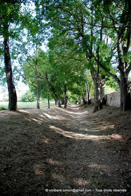 [NU001b-2018-0002] Vernègues (Alvernicum) : Chemin d'accès au temple romain