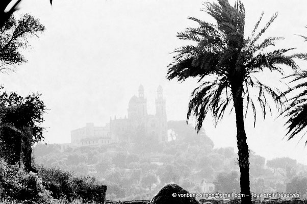 [072-1978-01] Annaba (Hippo Regius) : Basilique Saint-Augustin vue depuis le quartier des villae du front de mer