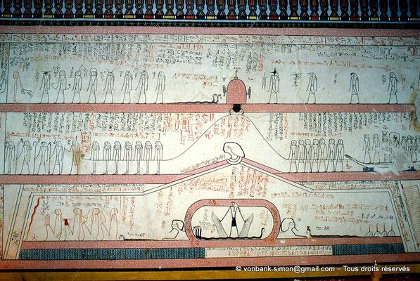 [063-1981-04] KV 34 Thoutmôsis : 5° Heure de l'Amdouat (chambre funéraire)