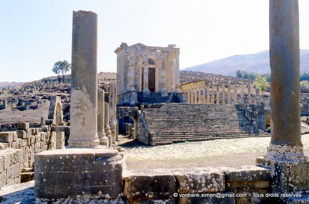[001-1983-05] Djemila (Cuicul) : Temple Septimien