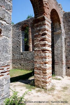 [NU902-2010-134] Butrint (Buthrotum) : Basilique chrétienne reconstruite à l'époque vénitienne