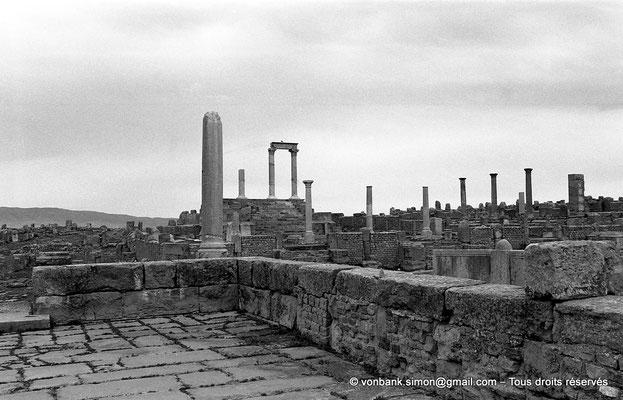 [NB046-1978-19] Timgad (Thamugadi) : Temple du Génie de le Colonie