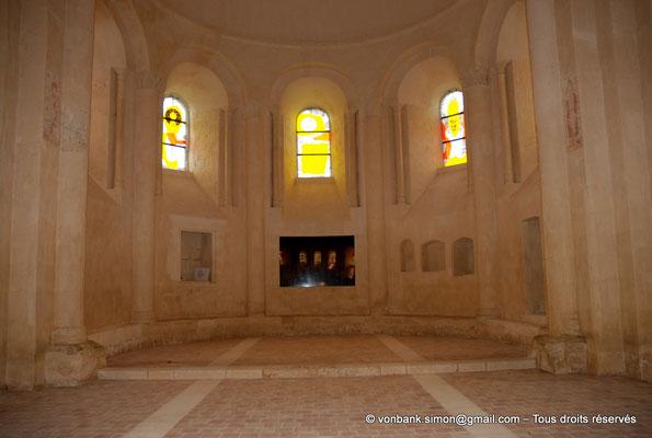 [NU904-2015-0012] 17 - Trizay - Prieuré Saint-Jean l'Évangéliste : Chapelle axiale