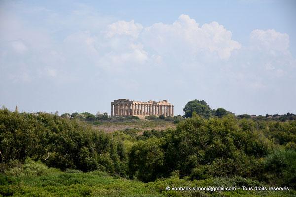 [NU906-2019-1478] Sélinonte - Temple E : Faces Ouest et Sud, vue prise depuis l'Acropole