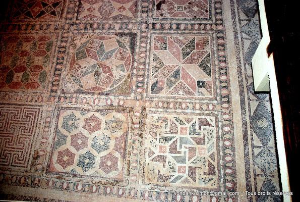 [NU900-2012-070] Paphos (Nea Paphos) : Villa de Dionysos - Mosaïque aux compositions géométriques [14]