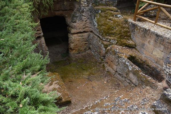 [NU906-2019-1569] Agrigente - Hypogée paléochrétien (V° siècle) du secteur de la Villa Aurea