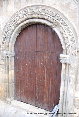 [NU905-2014-0321] Nicosie - Agia Sophia : Portail Sud de la façade occidentale de l'ancienne église Saint-Nicolas