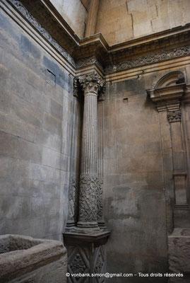 [NU001i-2018-0023] Arles - Les Alyscamps : Eglise Saint-Honorat - Chapelle d'Oraison (Détail)