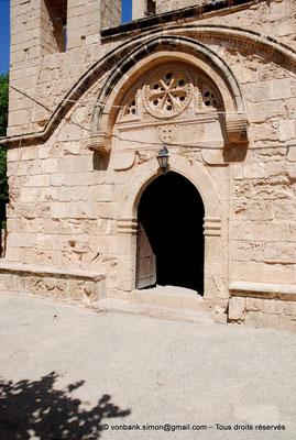 [NU900-2012-0181] Agia Napa : Porte de l'Eglise dédiée à la Vierge Marie