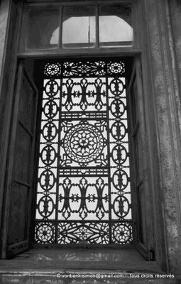 [NB072-1973-10] Le Caire - Mosquée Mohamed Ali Pacha : Grille