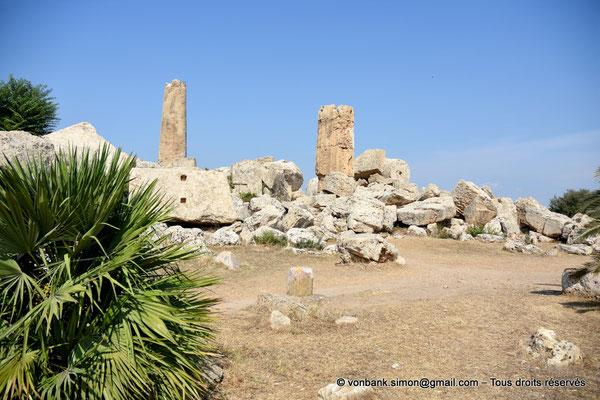[NU906-2019-1448] Sélinonte - Temple G : Ruines