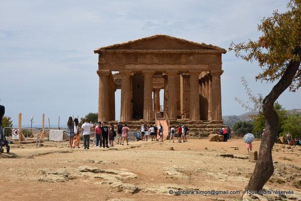 [NU906-2019-1556] Agrigente - Temple de la Concorde : Face Est