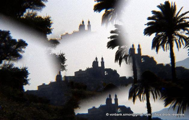 [072-1978-04] Annaba (Hippo Regius) : Basilique Saint-Augustin vue depuis le quartier des villae du front de mer