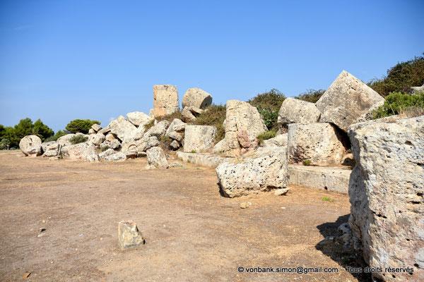 [NU906-2019-1440] Sélinonte - Temple G : Ruines