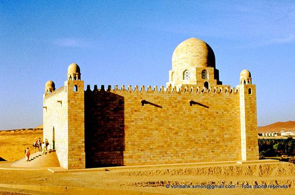 [089-1973-07] Assouan : Mausolée de l'Aga Khan III