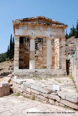 [NU901-2008-0153] GR - Delphes - Sanctuaire d'Apollon : Trésor des Athéniens