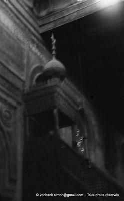 [NB073-1973-49] Le Caire - Mosquée Ibn Toulon : Minbar (chaire)