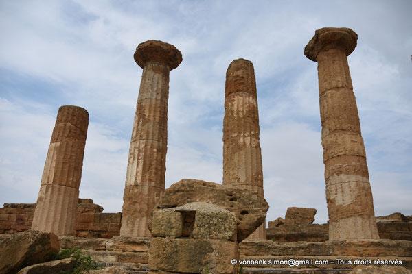 [NU906-2019-1579] Agrigente - Temple d'Héraclès (Hercule) : Face Sud