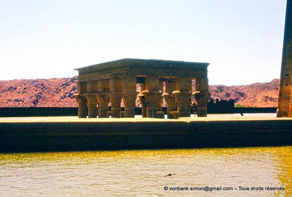 [089-1973-18] Philae : Kiosque de Trajan