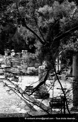 [NB036-1978-67] Tipasa de Maurétanie : Cour du temple anonyme (détail)