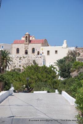 [NU900x-2013-0116] Crète - Chrysoskalítissa : Le monastère et son église