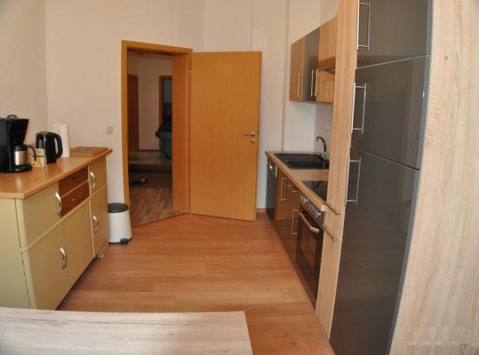 Küche Ferienwohnung Di Pino Aue