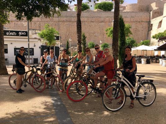 Bike tour Ibiza - Plaça