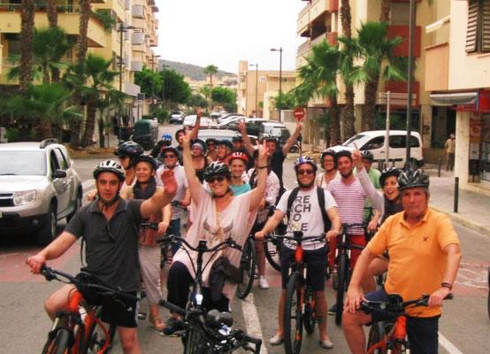 Bike tour Ibiza - City
