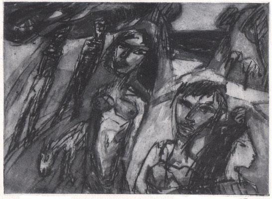 Augustinski, Michael, Der Weg, Heliogravure 2015, ea, 17x24 cm / 60 Euro