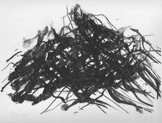 Uhlig, Max, o.T., Lithographie 1979, 168-200, 24,0x34,5 cm / 50 Euro