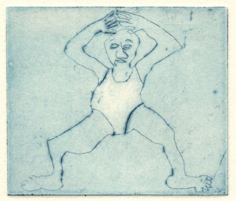 Molter, Hannah, Wupp, Klatnadel, 2015, 6x7 cm / 20 Euro