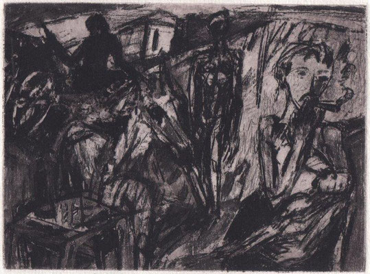 Augustinski, Michael, Pastorale, Heliogravure 2016, ea, 12x16 cm / 40 Euro