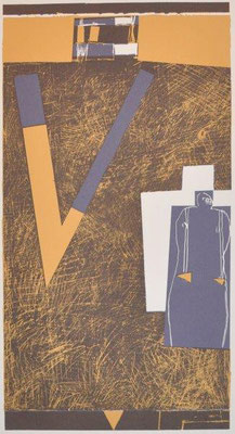 Unbehagen, Niels, oT, Farbsiebdruck, 2006, ap, 44x23 cm / 100 Euro