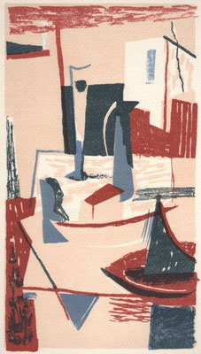 Hegewald, Michael, Stillleben, Farblithographie 2004, e.a., 32,0x17,5 cm / 160