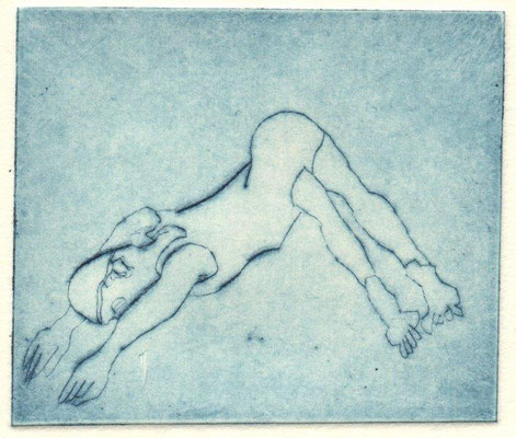 Molter, Hannah, Blubb, Klatnadel, 2015, 6x7 cm / 20 Euro