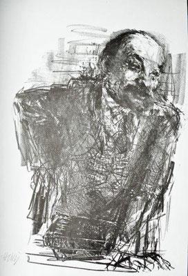 Heisig, Bernhard, Lenin, Lithographie o.J, 21x30 cm / 40