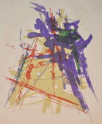 Veyrunes, Oscar, oT, Farblithographie, 2016, 2-4, 78x53,5 cm / 250 Euro