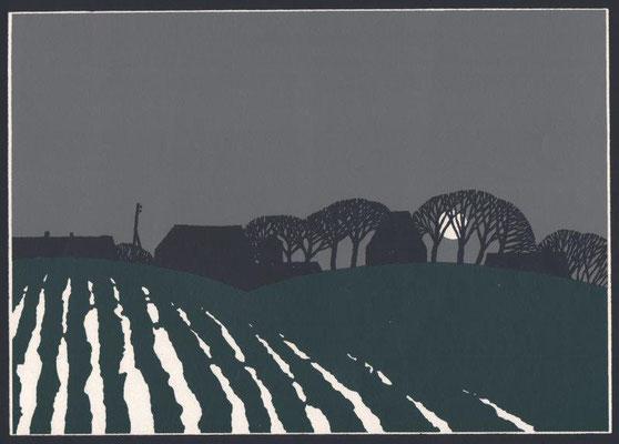 Lüttger, Harry, o.T., Farbsiebdruck o.J., 21,0x 30,0 cm / 40 Euro